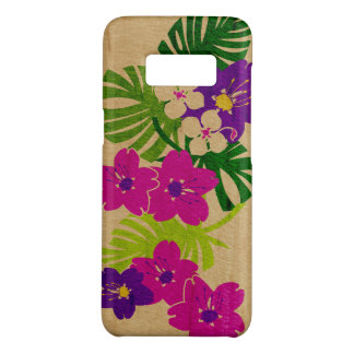 Limahuli Garden Hawaiian Faux Wood Pink Case-Mate Samsung Galaxy S8 Case