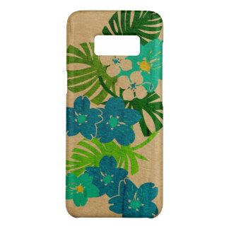 Limahuli Garden Hawaiian Faux Wood Turquoise Case-Mate Samsung Galaxy S8 Case