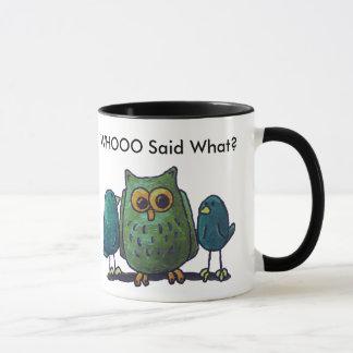 LimbBirds Black 11 oz Ringer Mug