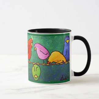 "LimbBirds ""Feelin Down?"" Coffee Cup"