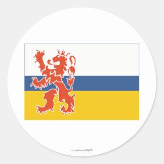 Limburg Flag Round Sticker