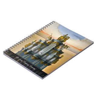 Limburg pipe organ note book