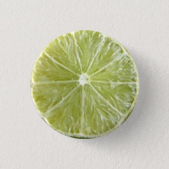 Lime 3 Cm Round Badge