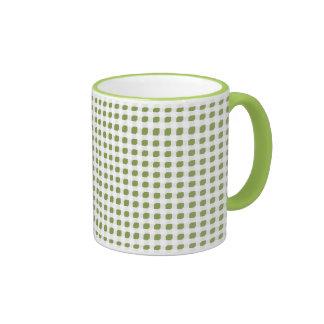 Lime 3 Side Boxes Ringer Mug