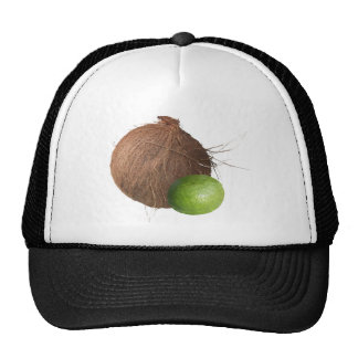 Lime and Coconut Trucker Hats