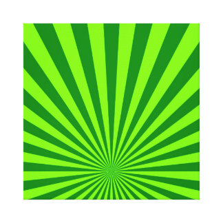 Lime and Green Funky Abstract Art  Wrapped Canvas Gallery Wrap Canvas