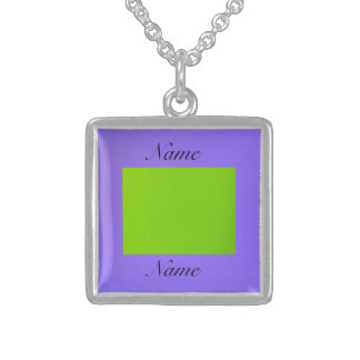 Lime and Purple Jewelry