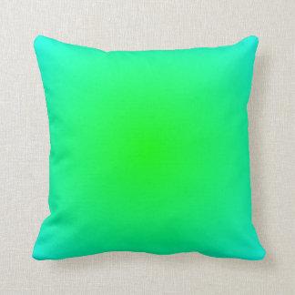 Lime Aqua Gradient Cushion