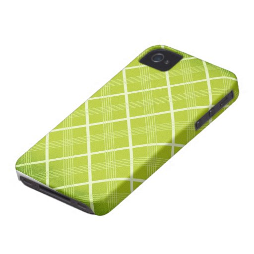 Lime Argyle Blackberry Phone Case Blackberry Bold Cover