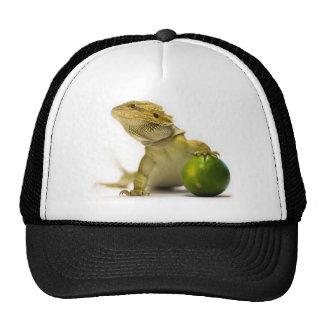 Lime Beardy Hat