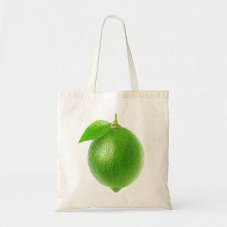 Lime Budget Tote Bag