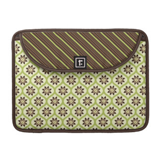 Lime & Cocoa Florals Rickshaw Sleeve for MacBooks