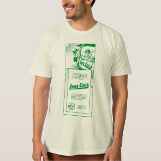 Lime Cola 1919 vintage illustration T-Shirt
