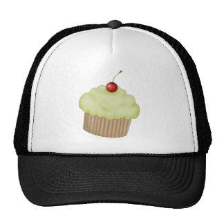 Lime Cupcake Cap