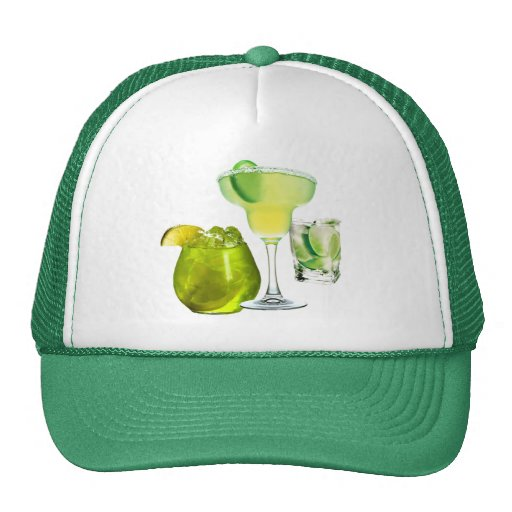 Lime Drinks Mesh Hats