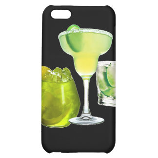 Lime Drinks Cover For iPhone 5C