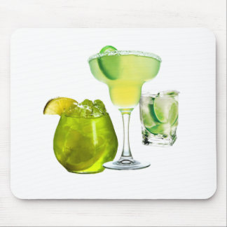 Lime Drinks Mousepads
