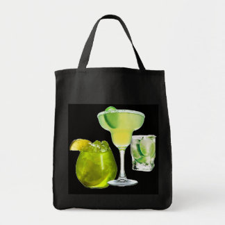 Lime Drinks Tote Bags