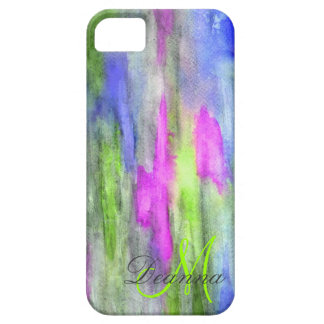 Lime Ebony Rainbow Barely There Iphone 5 Case