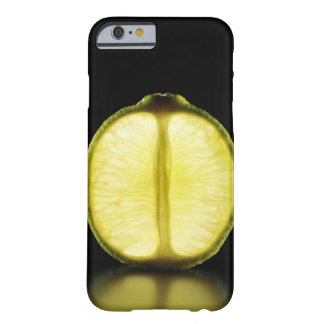 Lime,Fruit,Black background Barely There iPhone 6 Case
