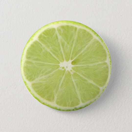 Lime Fruit Fresh Slice - Button