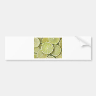 lime fruit green juicy juice thanks party fun bumper sticker