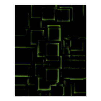 """Lime""  Geometric Art Poster"