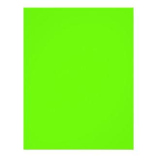 Lime Green 21.5 Cm X 28 Cm Flyer