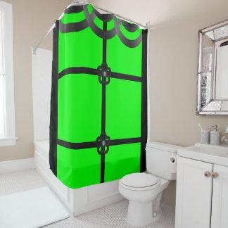Black And Lime Green Shower Curtains | Zazzle.com.au