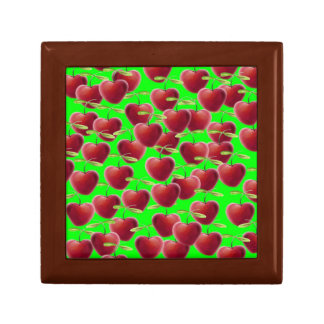 Lime Green Cherry Splash Gift Box