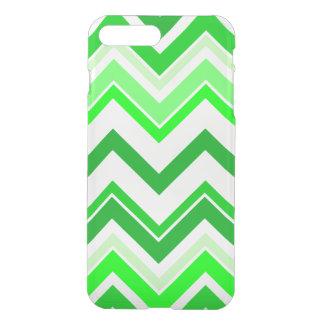 Lime green Chevron pattern