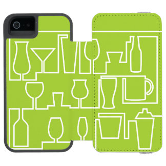 Lime green cocktail party incipio watson™ iPhone 5 wallet case