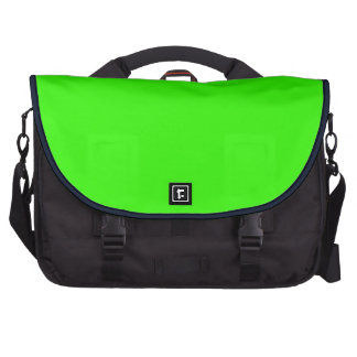 Lime Green Computer Laptop Bag