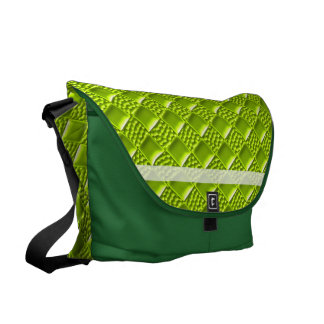 Lime Green Courier Bags