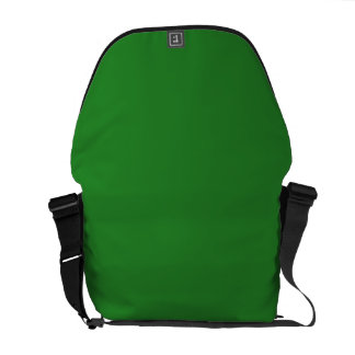 LIME GREEN DARK (solid color) ~ Courier Bags