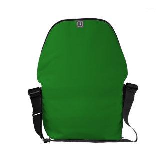 LIME GREEN DARK (solid color) ~ Commuter Bag