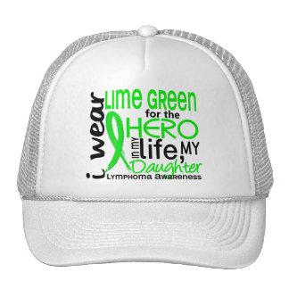Lime Green For Hero 2 Daughter Lymphoma Cap