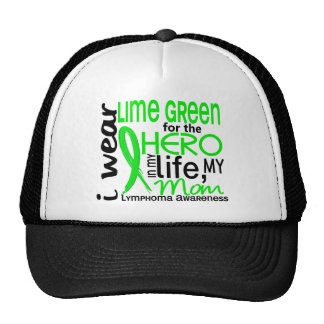 Lime Green For Hero 2 Mom Lymphoma Cap
