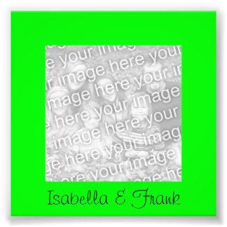 Lime Green Frame Photo