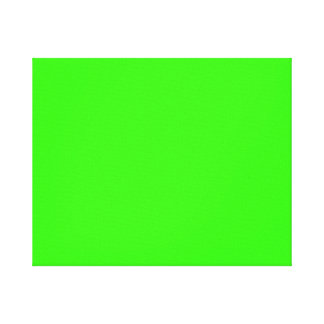 Lime Green Gallery Wrap Canvas