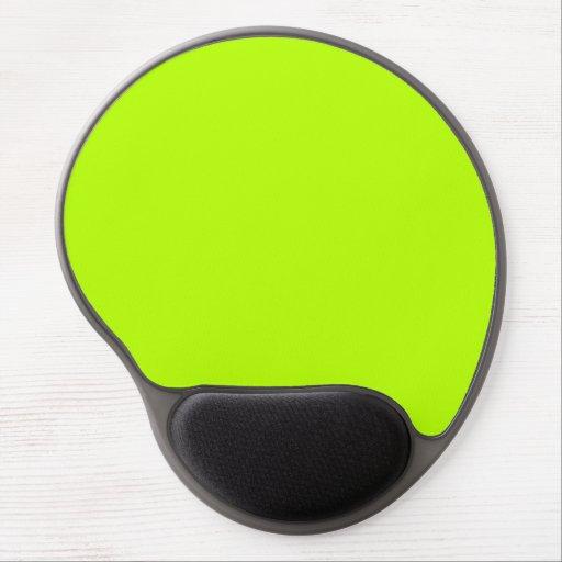 Lime green gel mousepads