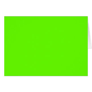 Lime Green Greeting Card