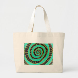 Lime Green Inverted Spiral Bags