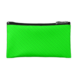 Lime Green Kidney Cosmetic Bag