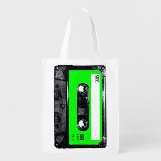 Lime Green Label Cassette