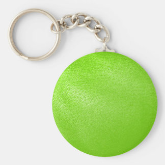 Lime Green Leather Look Faux Key Chains