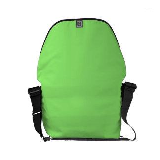 LIME GREEN LIGHT  (solid color) ~ Messenger Bag