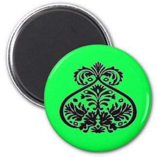 lime green magnets
