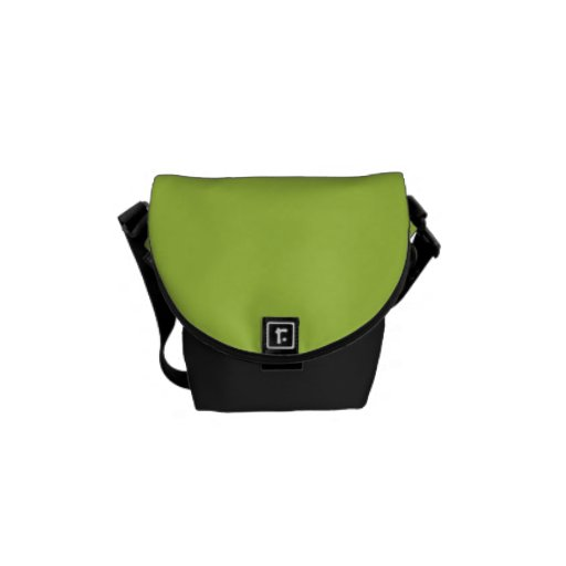 """Lime Green"" Messenger Bags"