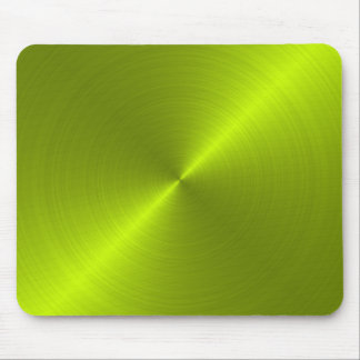 Lime Green Metallic Looking Mousepad